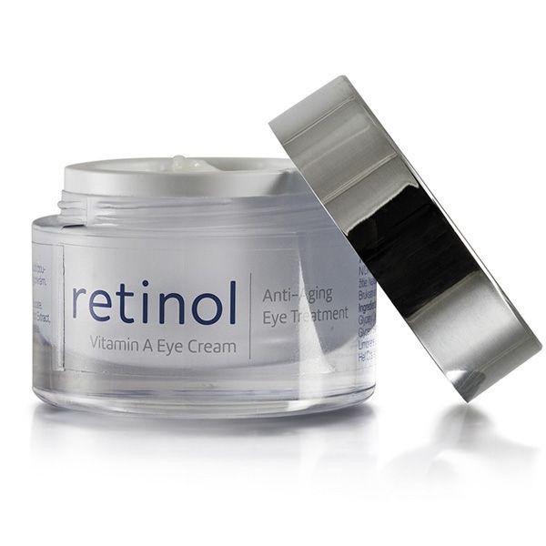 øjencreme med retinol